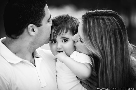 Rodzinna sesja roczkowa - Henrique - first birthday session in Madrid