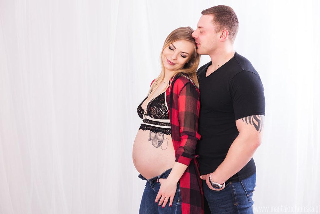 sesja ciążowa w studio Poznan