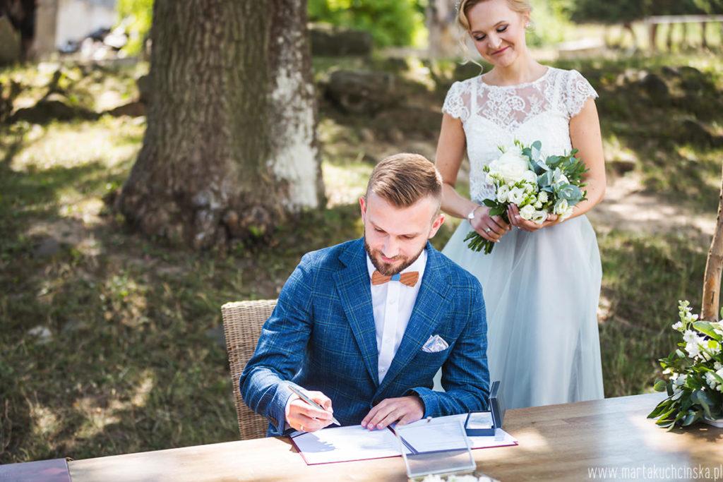 ślub plenerowy Poznań