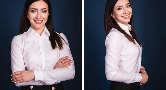 Kobiecy portret biznesowy
